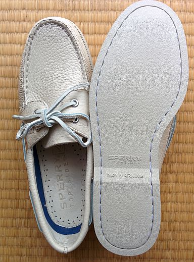 Sperry Top Sider Authentic Original Boat Shoe: Sole